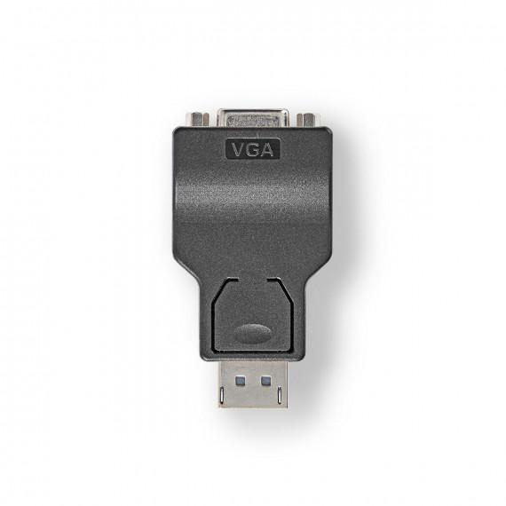 Nedis Adaptateur DisplayPort vers VGA DisplayPort Mâle - VGA Femelle Noir