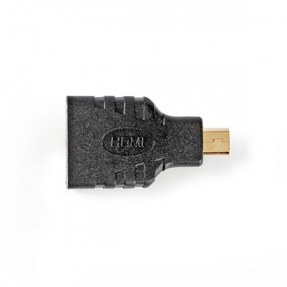Nedis Adaptateur HDMI™ Micro-connecteur HDMI - HDMI Femelle Noir