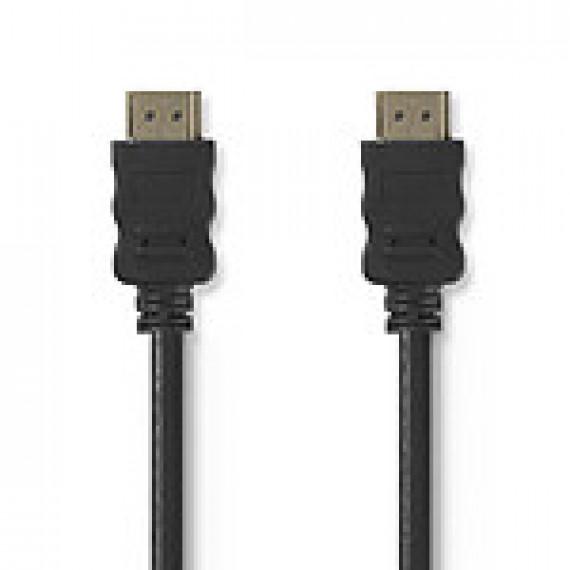 Nedis Nedis câble HDMI + Ethernet mâle/mâle (30 m)