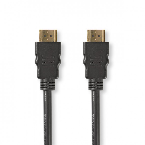 Nedis Câble HDMI™ Haute Vitesse avec Ethernet Connecteur HDMI™ vers Connecteur HDMI™ 1,0 m Noir