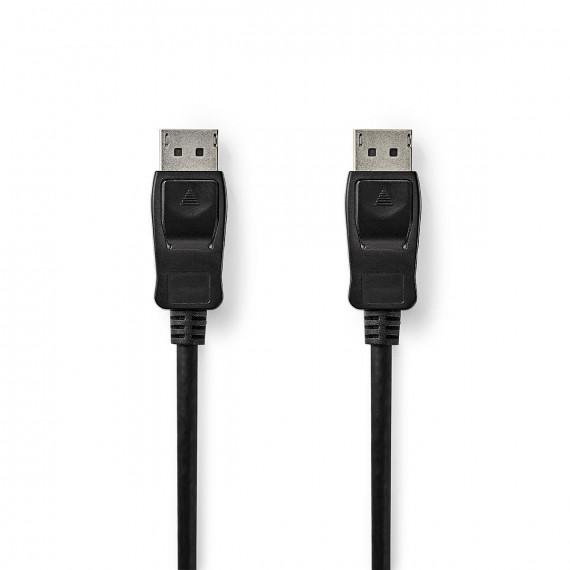 Nedis Câble DisplayPort 1.4 DisplayPort Mâle vers DisplayPort Mâle 3,00 m Noir