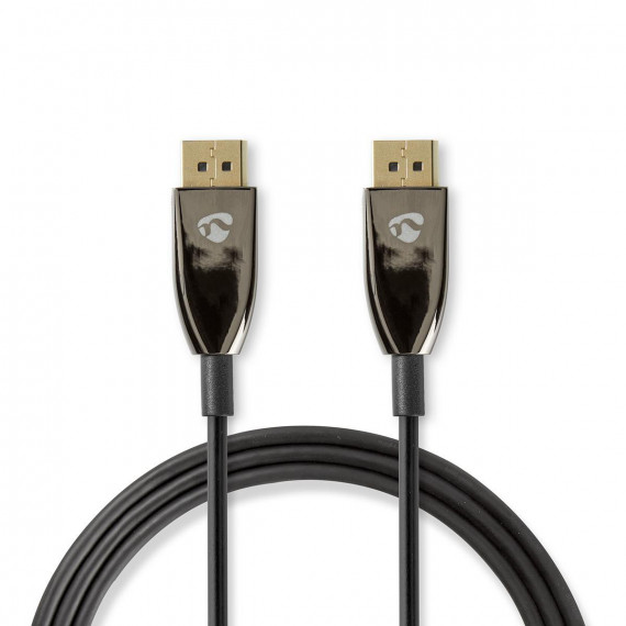 Nedis Câble DisplayPort 1.4 COA DisplayPort Mâle vers DisplayPort Mâle 10,0 m Noir