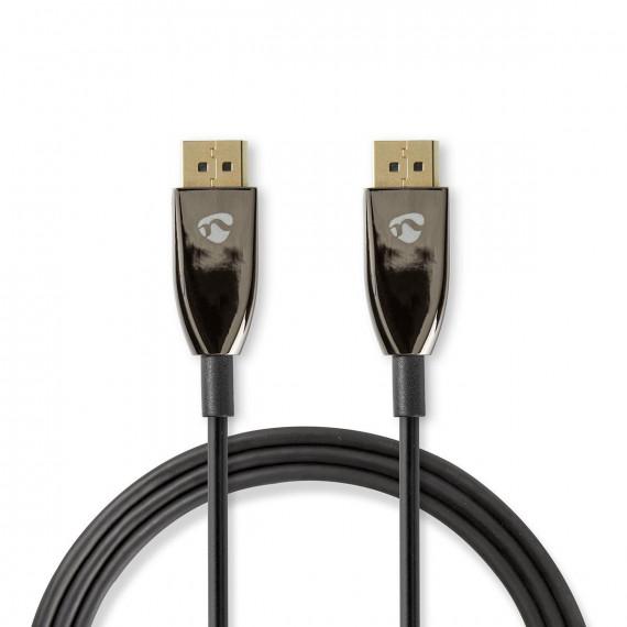 Nedis Câble DisplayPort 1.4 COA DisplayPort Mâle vers Mâle 5,0 m Noir