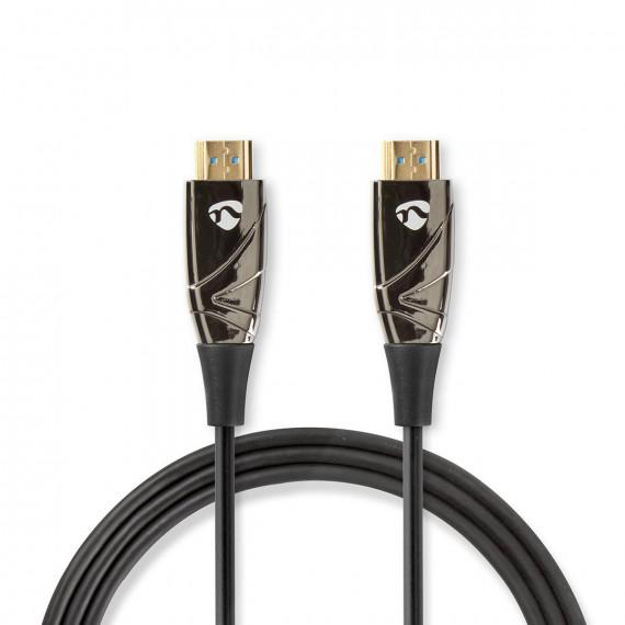 Nedis Câble HDMI™ Haute Vitesse avec Ethernet COA Connecteur HDMI™ vers connecteur HDMI™ 100 m Noir