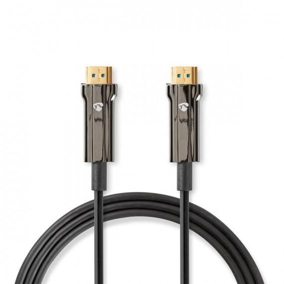 Nedis Câble HDMI™ Ultra-Haute Vitesse COA Connecteur HDMI™ vers Connecteur HDMI™ 100 m Noir