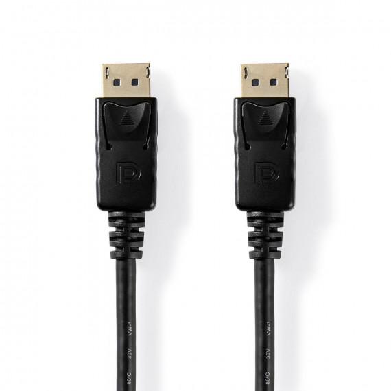 Nedis Câble DisplayPort 1.4 DisplayPort Mâle DisplayPort Mâle 2,0 m Noir