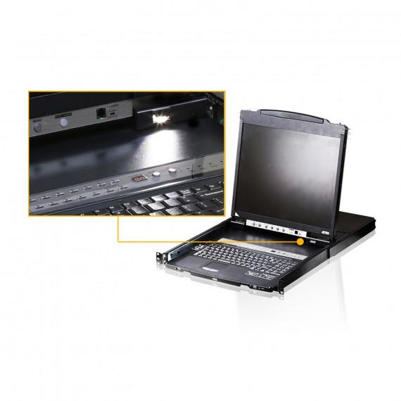 "Aten Aten CL5816N - Console KVM LCD 19"" 16 ports (USB - PS/2 VGA)"