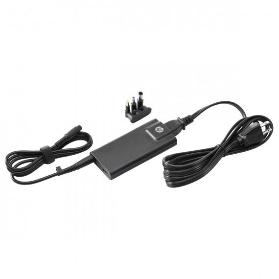 HP HP 65W Slim Adapter (H6Y82AA) - Adaptateur secteur 65W avec port USB intégré