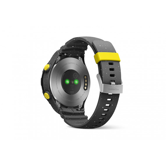Huawei Watch 2 Sport Gris - Montre connectée IP68 - Wi-Fi/Bluetooth/NFC - GPS - Cardio-fréquencemètre - Android Wear 2.0 - iOS/Android