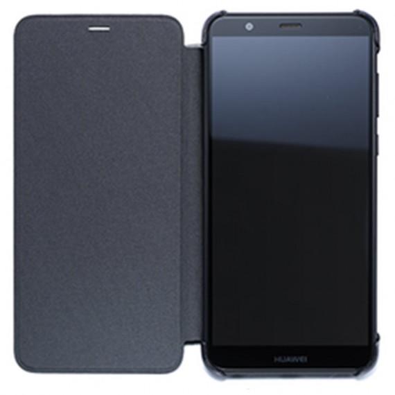 Huawei Etui Flip Noir P Smart