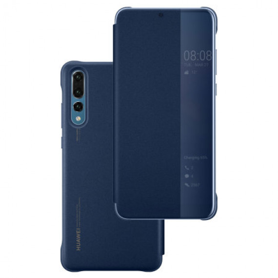 Huawei Smart View Flip Cover Bleu for P20 Pro