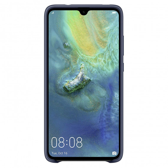 Huawei Silicone Case Bleu Mate 20