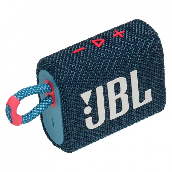 JBL GO 3 Bleu/Rose