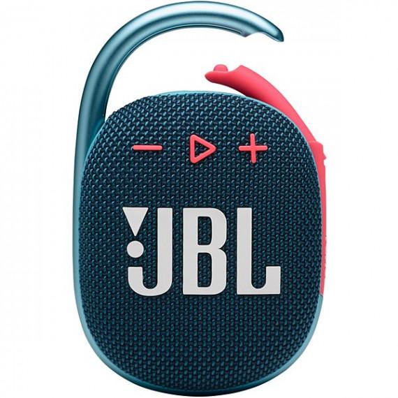 JBL Enceinte Bluetooth  Clip 4 Bleu et Rose