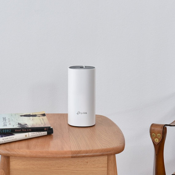 TPLINK AC1200 Whole-Home Mesh Wi-Fi  AC1200 Whole-Home Mesh Wi-Fi System Qualcomm CPU 867Mops at 5GHz+300Mops at 2.4GHz 2 10/100Mbps Ports 2 internal antennas