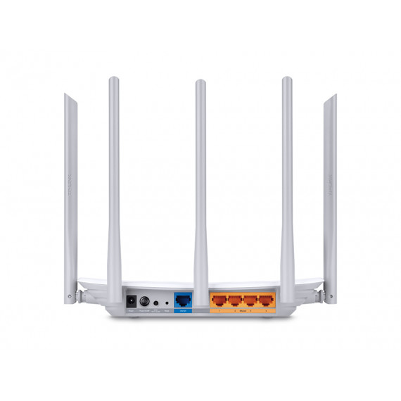 TPLINK TP LINK AC1350 Routeur Dual Band WiFi TP LINK AC1350 Routeur Dual Band WiFi Qualcomm 867Mbps at 5GHz + 450Mbps at 2.4GHz 802.11ac/a/b/g/n 1 10/100M WAN + 4 10/100M LAN Wi