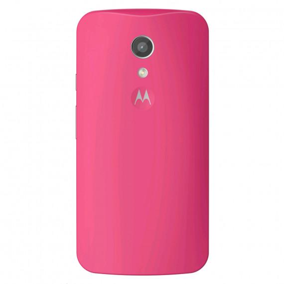 Motorola Coque d'origine Framboise Moto G 2ème Génération