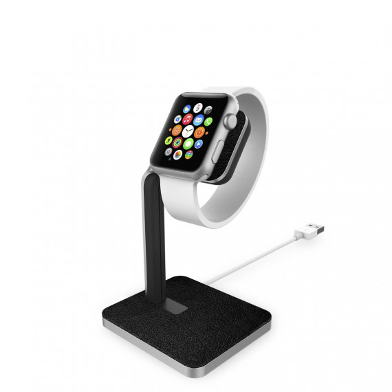 Dock pour montre Apple Watch MOPHIE Support Silver / Black