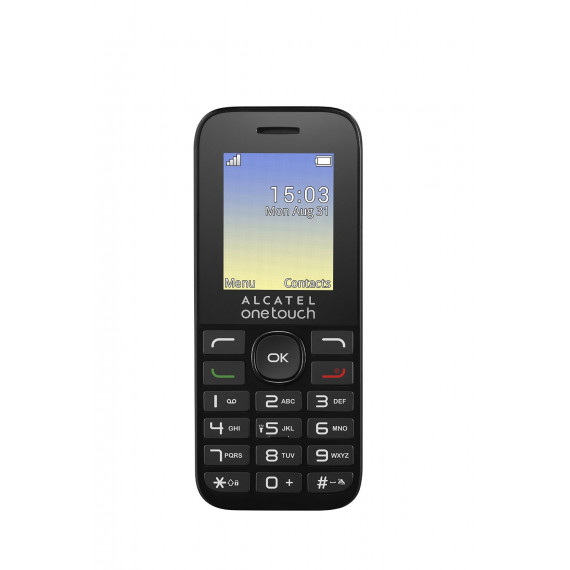 Alcatel 1016D double-SIM noir