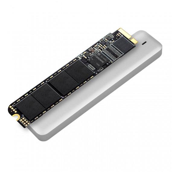 Transcend JetDrive 520 SSD interne pour MacBook Air 240 Go SATA III (Kit avec boîtier externe USB 3.0, étui et tournevis)