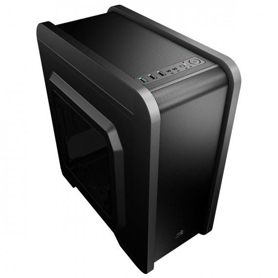 AEROCOOL Qs-240 Micro-ATX - Window noir