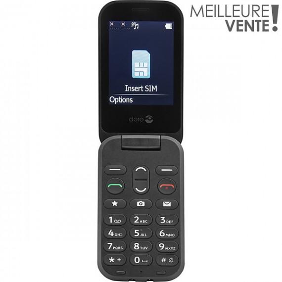 Doro Téléphone portable  6040 Noir