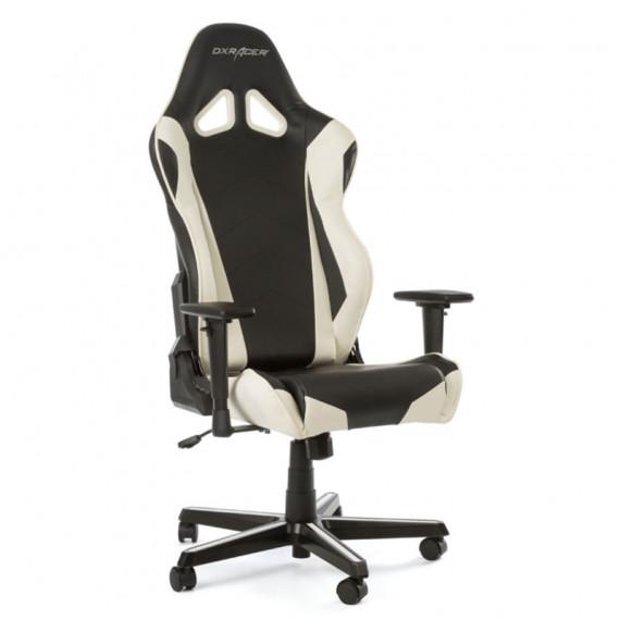 DXRacer Racing-R0 au nord-ouest Chaise de jeu - noir / blanc