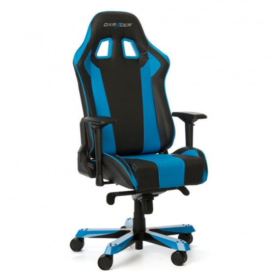 DXRacer Roi K06-NB Chaise de jeu - noir / bleu