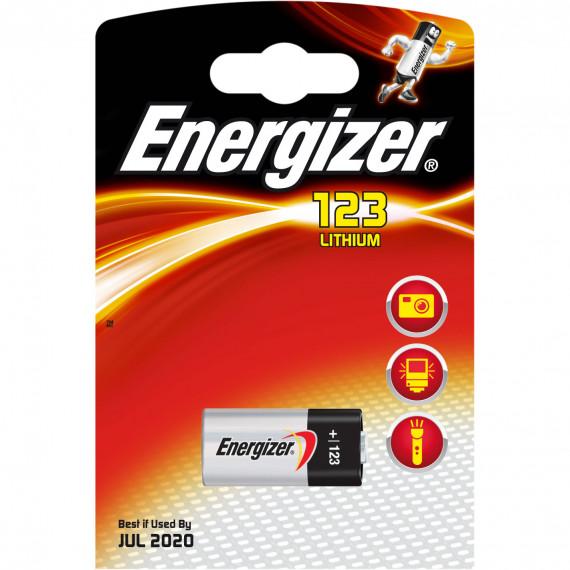 Energizer 123 Lithium (à l'unité)