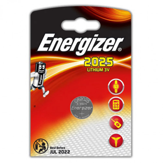 Energizer CR2025 Lithium 3V