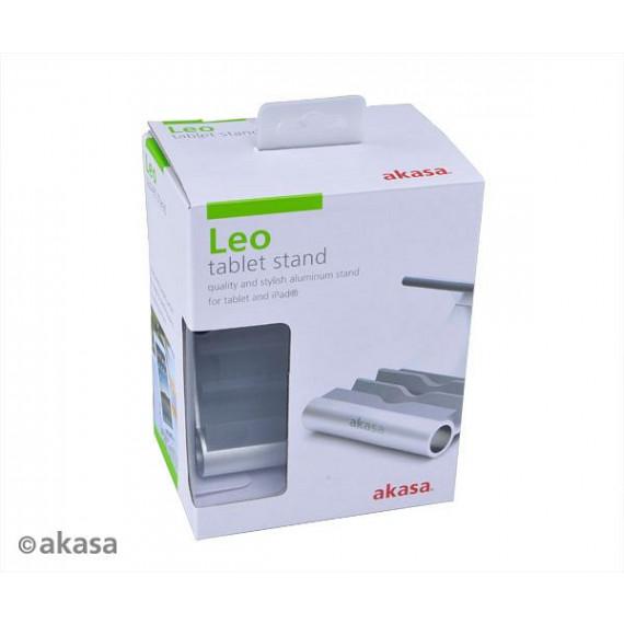 Support aluminium de tablette Akasa Leo - bleu