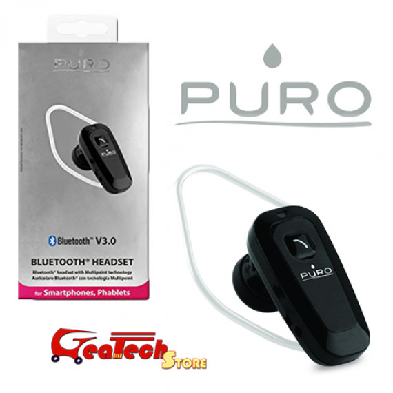 PURO BLUETOOTH HEADSET V3.0 Noir