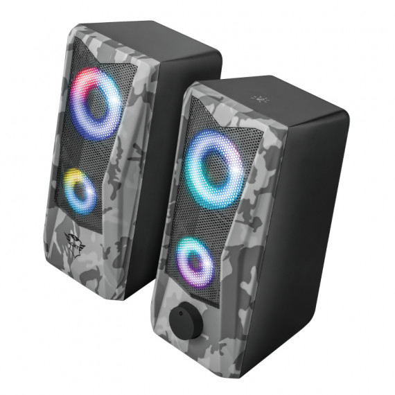 TRUST GXT 606 Javv RGB-Illuminated 2.0 Enceintes