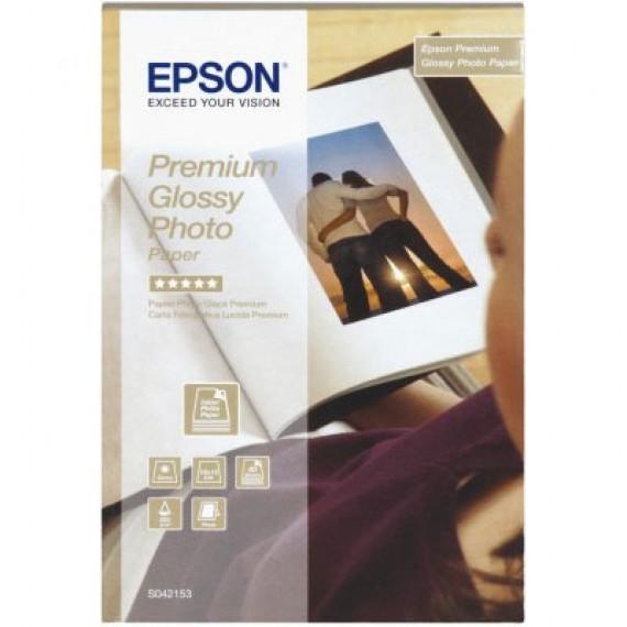 EPSON Papier glacé qualité photo Premium - C13S042155 - Papier glacé qualité photo Premium A4 255 g/m² (15 feuilles)