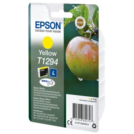 EPSON Singlepack Yellow T1294 DURABrite  T1294 cartouche dencre jaune haute capacite 7ml 1-pack RF-AM blister