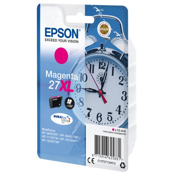 EPSON Cartouche Reveil Encre Du  27XL cartouche dencre magenta haute capacite 10.4ml 1.100 pages 1-pack RF-AM blister