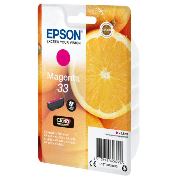 EPSON Cartouche Oranges Claria Magenta  Cartouche Oranges Encre Claria Premium Magenta