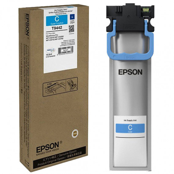 EPSON WF-C5XXX Series Ink Cartridge L Cyan (C13T944240)