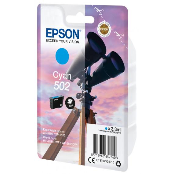 EPSON Singlepack Cyan 502 Ink SEC  Singlepack Cyan 502 Ink SEC