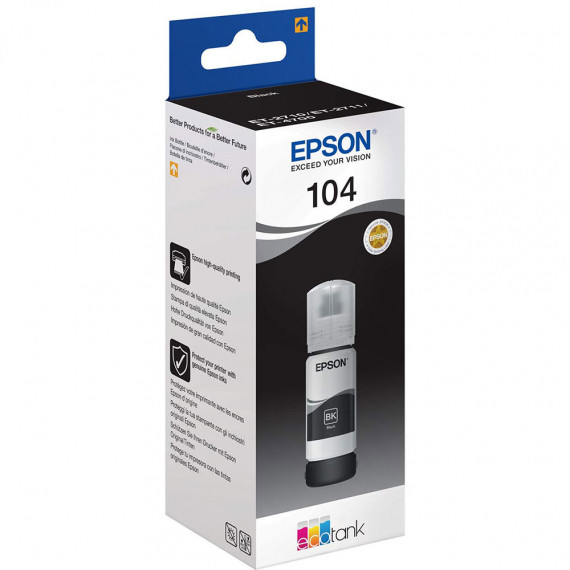 EPSON 104 EcoTank Noir