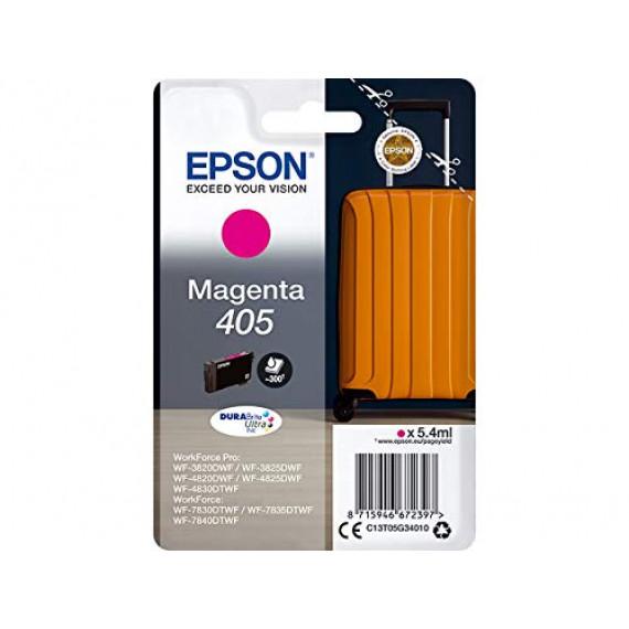 EPSON Singlepack Magenta 405 DURABrite  Singlepack Magenta 405 DURABrite Ultra Ink