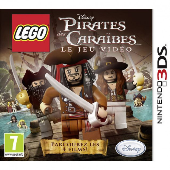 JUST FOR GAMES LEGO PIRATES DES CARAIBES 3DS