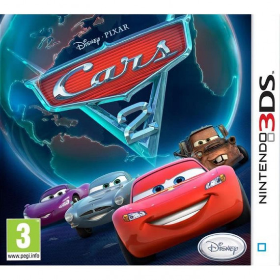 JUST FOR GAMES CARS 2 3DS