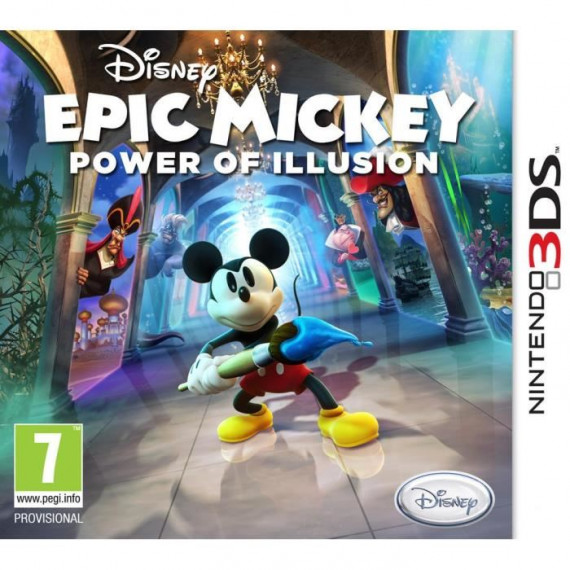 JUST FOR GAMES DISNEY EPIC MICKEY 2 3DS