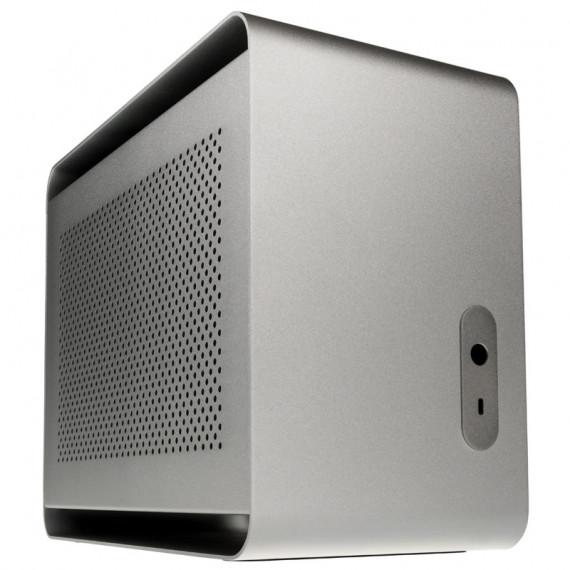 STREACOM DA2 Mini-ITX cas - argent