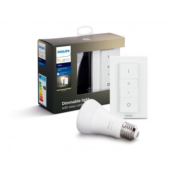 1MORE PHILIPS HUE Kit d'éclairage White Ampoule et télécommande