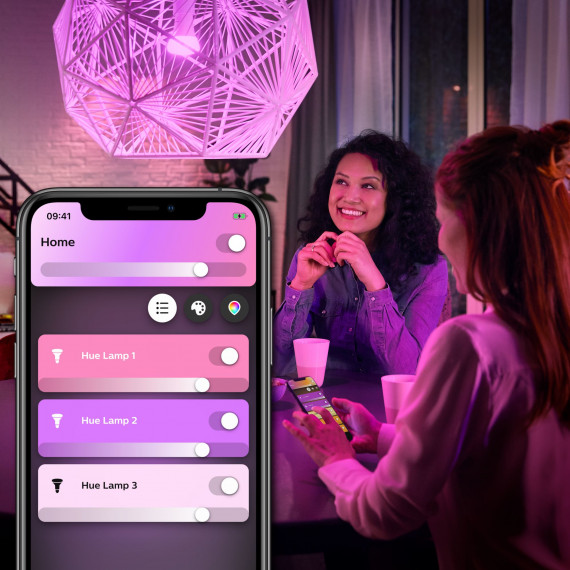 PHILIPS PHILIPS HUE Pack de 2 ampoules White & Color Ambiance