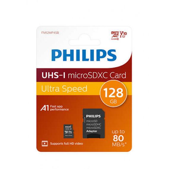PHILIPS Accessoire  Carte mémoire Micro SDHC