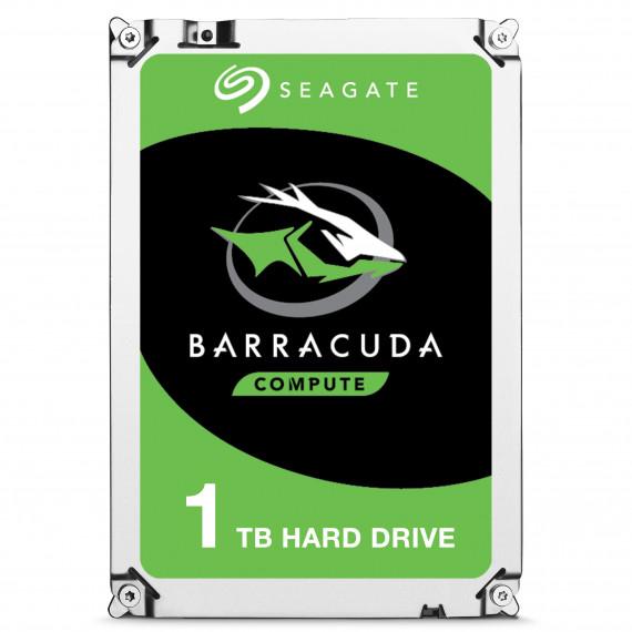 Seagate Barracuda 7200 1To HDD single  Desktop Barracuda 7200 1To HDD 7200rpm SATA serial ATA 6Gb/s NCQ 64Mo cache 3.5p BLK single pack