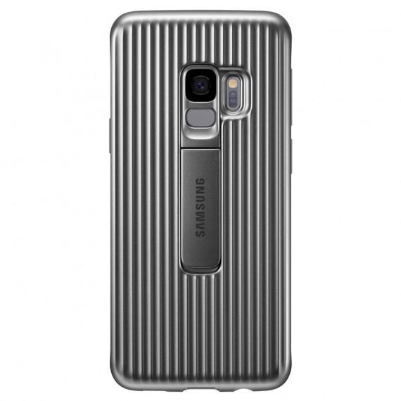 SAMSUNG Coque Renforcée Argent Galaxy S9
